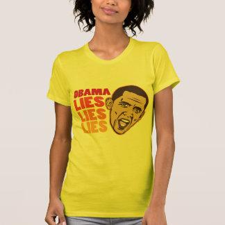 Obama Lies Lies Lies Tee Shirts