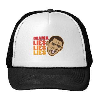 Obama Lies Lies Lies Trucker Hats