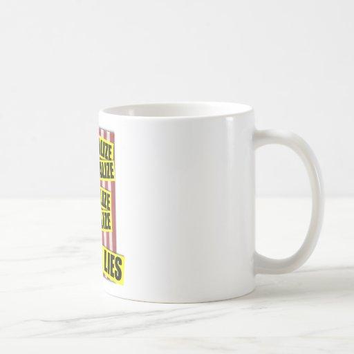 Obama Lies Coffee Mugs