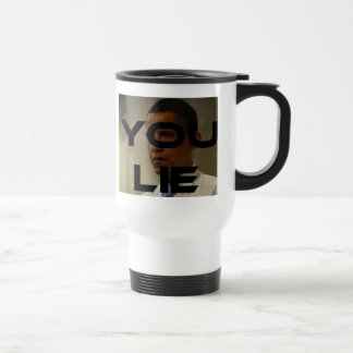 Obama Lies Travel Mug