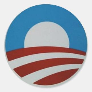 Obama-logo Classic Round Sticker