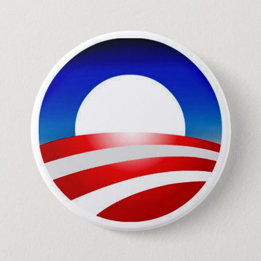 Obama Logo Design Zazzle Products 7.5 Cm Round Badge