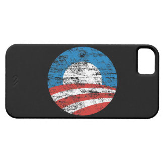 Obama Logo Distressed iPhone 5 Case Mate Case