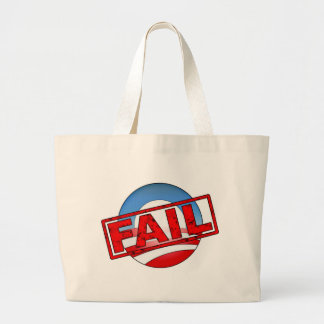 Obama Logo Fail Tote Bags