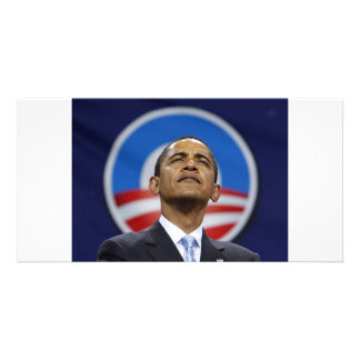 obama-logo personalized photo card