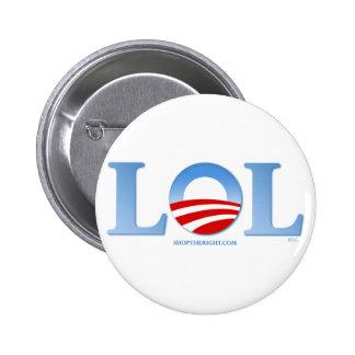 Obama LOL 6 Cm Round Badge