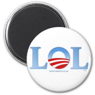 Obama LOL 6 Cm Round Magnet
