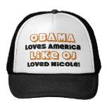 Obama Loves America Like... Mesh Hats