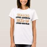 Obama Loves America Like T-Shirt