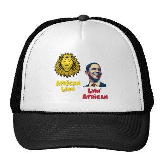 Obama Lyin' African/ African Lion Cap