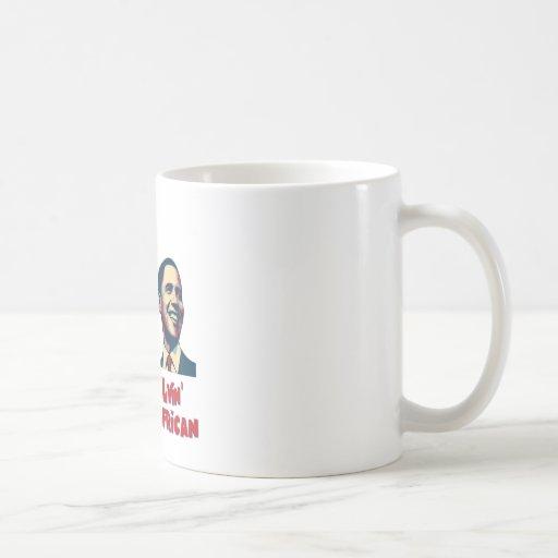 Obama Lyin' African/ African Lion Mug