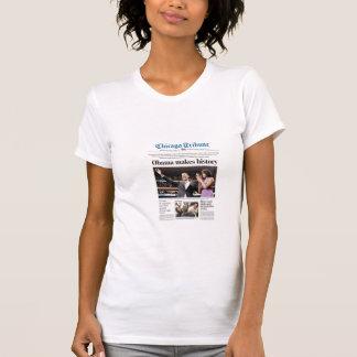 Obama Makes History! T-Shirt