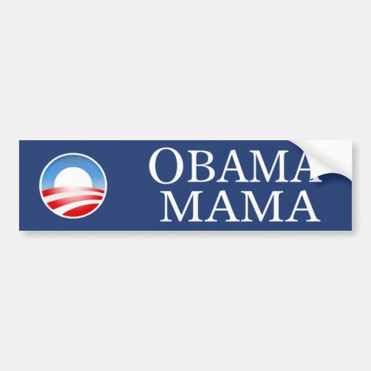 Obama Mama Bumper Sticker