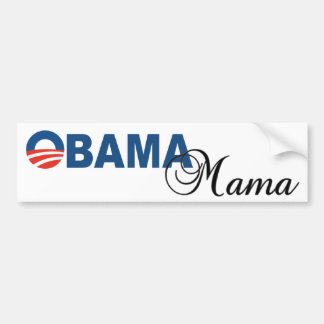 Obama Mama Logo Bumper Sticker