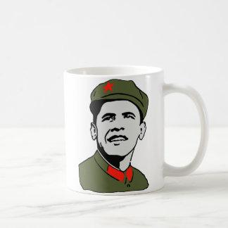 Obama Mao Coffee Cup Basic White Mug