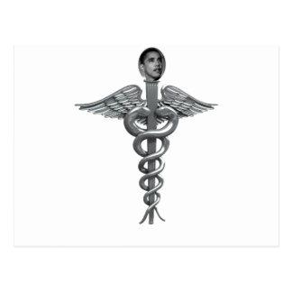 obama medical staff postcard
