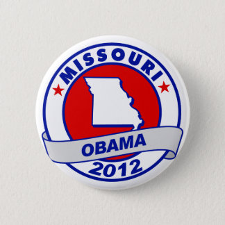 Obama - Missouri 6 Cm Round Badge