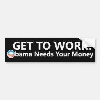 Obama Money Bumper Sticker