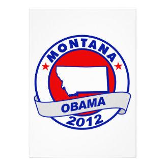 Obama - Montana Custom Invites