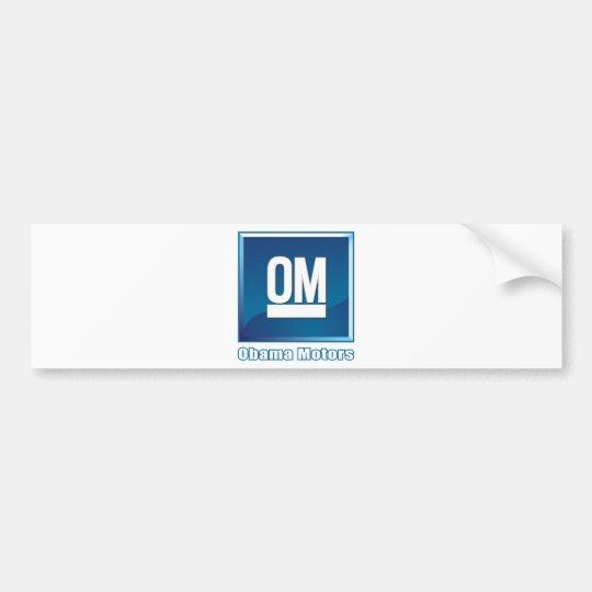 Obama Motors logo Bumper Sticker