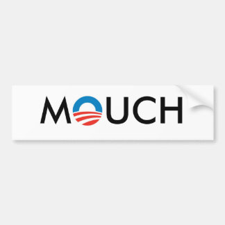 OBAMA MOUCH BUMPER STICKER