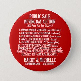 Obama Moving Day Sale 7.5 Cm Round Badge