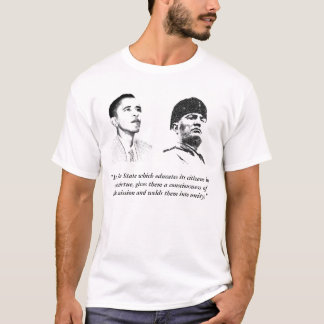 Obama & Mussolini, BFF's T-Shirt