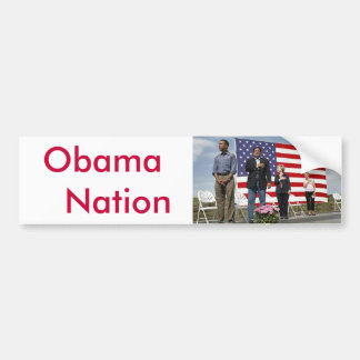 Obama   Nation Bumper Sticker