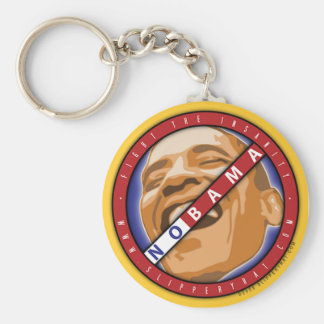 """Obama """"Nobama"""" Keychain"""