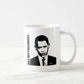 Obama - Not My President Basic White Mug