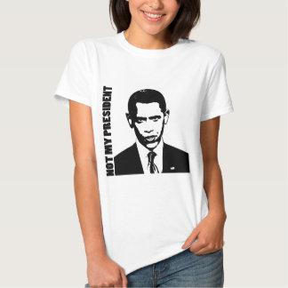 Obama - Not My President Tshirts