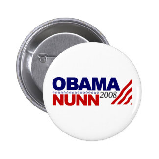 Obama Nunn 2008 Pin