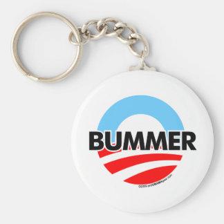 Obama O Bummer Logo Key Ring