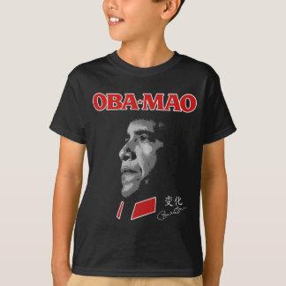 Obama Obamao OBA-MAO Mao Tshirt