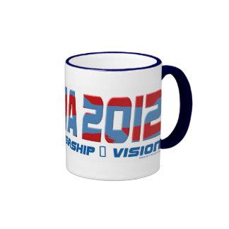 Obama Obamateer 2012 Gear Ringer Coffee Mug