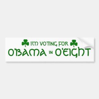 O'Bama O'Eight Bumper Sticker