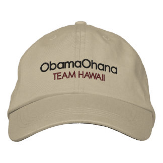 Obama Ohana, Hat Embroidered Baseball Cap