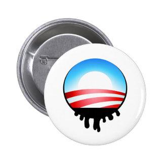 Obama Oil Spill BP 6 Cm Round Badge