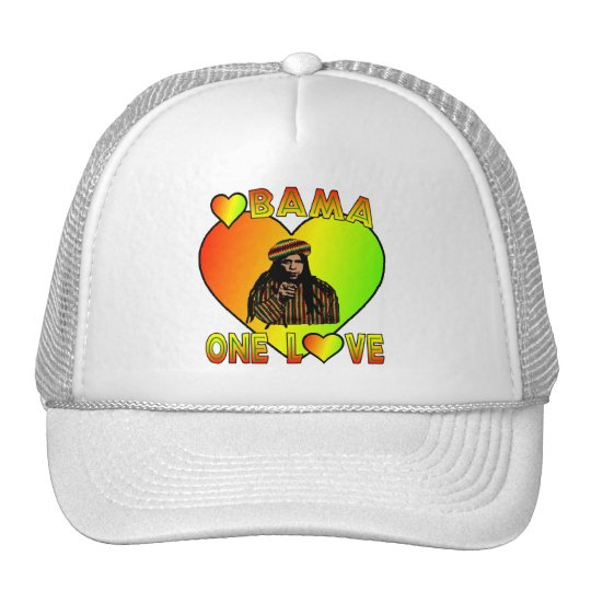 Obama One Love Hat