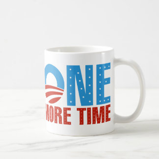 Obama: One More Time Basic White Mug