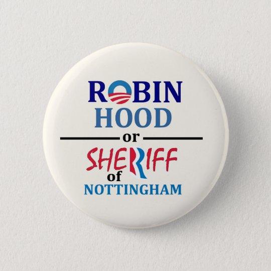 Obama or Romney 6 Cm Round Badge