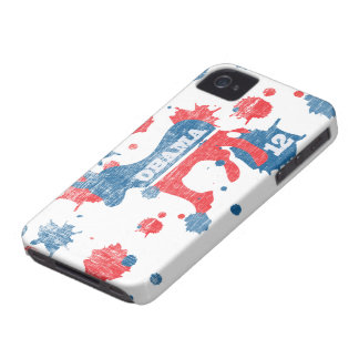 Obama Paint  2012 iPhone 4 Case