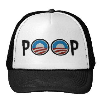 Obama = POOP! Mesh Hats
