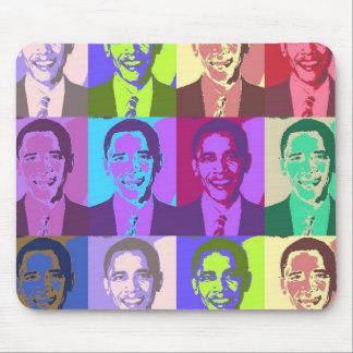 Obama Pop Art 1 Mouse Mat