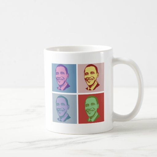 OBAMA POP ART -.png Coffee Mug