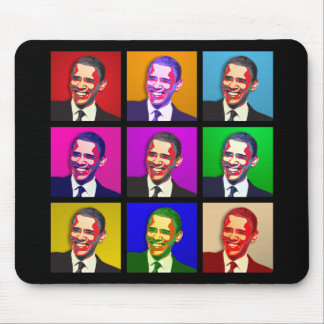 Obama Pop Art Style Mouse Mat