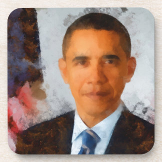 Obama Portrait Painting Coasters