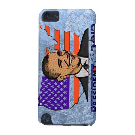 OBAMA PRESIDENT 2012 ELECTION iPod TOUCH (5TH GENERATION) COVER