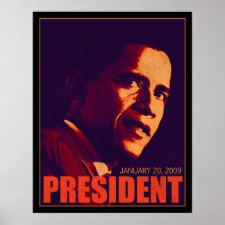 Obama President Poster