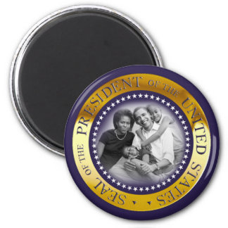 Obama Presidential Seal Portrait 6 Cm Round Magnet